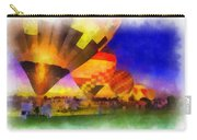 Standbye To Launch Hot Air Balloons Photo Art Carry-all Pouch