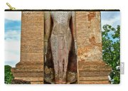 Standing Buddha At Wat Mahathat In 13th Century Sukhothai Historical Park-thailand Carry-all Pouch