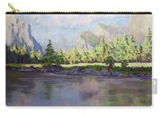 Standing Guard Over Yosemite Valley Carry-all Pouch