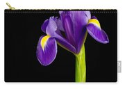 Standing Iris Carry-all Pouch