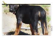 Standing Puppy Carry-all Pouch