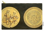 Standing Rock Sioux Tribe Code Talkers Bronze Medal Art Carry-all Pouch