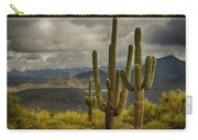 Standing Tall In The Sonoran Desert  Carry-all Pouch