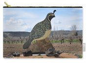 Standing Watch Of The Vineyard Carry-all Pouch