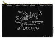 Stanley's Lounge In White Neon Carry-all Pouch