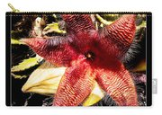 Stapelia Grandiflora Starfish Cactus Carry-all Pouch