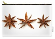 Star Anise Fruits Carry-all Pouch by Fabrizio Troiani