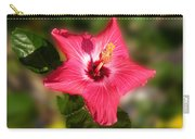 Star Bright Hibiscus Carry-all Pouch