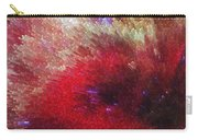 Star Burst - Red Abstract Art By Sharon Cummings Carry-all Pouch
