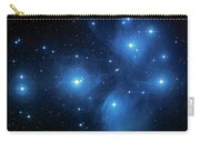 Star Cluster Pleiades Seven Sisters Carry-all Pouch by Jennifer Rondinelli Reilly - Fine Art Photography