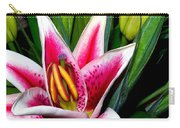 Star Gazer Lily Carry-all Pouch