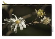 Star Magnolia Blossoms Carry-all Pouch