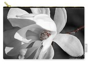Star Magnolia Flower Carry-all Pouch