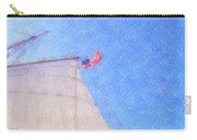 Star Of India. Flag And Sail Carry-all Pouch