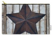 Star On Barn Wall Carry-all Pouch