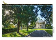 Star Over The Mausoleum - Henry And Arabella Huntington Overlooks The Gardens. Carry-all Pouch