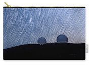 Star Trails Above Keck Carry-all Pouch