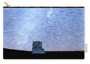 Star Trails Above Subaru Telescope Carry-all Pouch