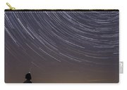 Star Trails Night Sky Landscape Vermont Lake Champlain Carry-all Pouch