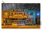 Star Trails Over The Rialto Carry-all Pouch