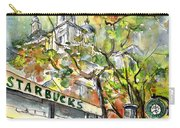 Starbucks Cafe In Budapest Carry-all Pouch