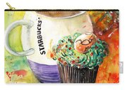 Starbucks Mug And Easter Cupcake Carry-all Pouch