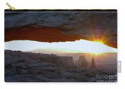 Starburst At Mesa Arch Carry-all Pouch