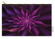Starburst Pinwheel Pink Violet Carry-all Pouch