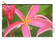 Starburst Plumeria Carry-all Pouch