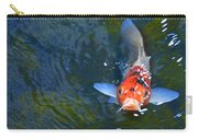 Stare Down With A Koi Carry-all Pouch