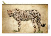 Stare Of The Cheetah Carry-all Pouch