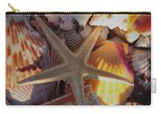 Starfish And Sun Rays Carry-all Pouch