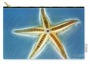 Starfish Art Carry-all Pouch by Kaye Menner