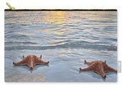 Starfish Beach Sunset Carry-all Pouch