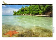 Starfish In Clear Water Carry-all Pouch