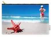 Starfish On Tropical Beach Carry-all Pouch