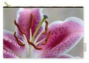Stargazer Lily Carry-all Pouch by Randy Walton