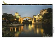 Stari Most By Night  Carry-all Pouch