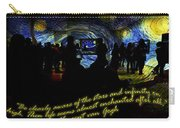 Staring At The Starry Night In The Moma Carry-all Pouch