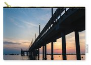 Staring At The Sun - Sunrise On The Beach Carry-all Pouch