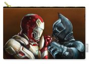 Stark Industries Vs Wayne Enterprises Carry-all Pouch