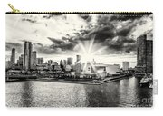 Starlight Over The American Airlines Arena Carry-all Pouch
