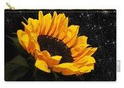 Starlight Sunflower Carry-all Pouch