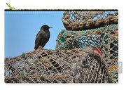 Starling On Lobster Pots Carry-all Pouch