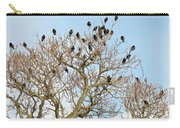 Starlings For Leaves - Sturnus Vulgaris Carry-all Pouch