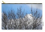 Starlings In The Cottonwoods Carry-all Pouch
