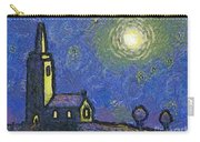 Starry Church Carry-all Pouch by Pixel Chimp