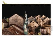Starry Night Above The Rooftops Of Korcula Carry-all Pouch