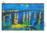 Starry Night Bridge Carry-all Pouch