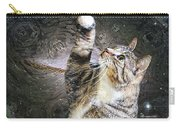 Starry Night Kitty Style - Featured  In Comfortable Art Group Carry-all Pouch